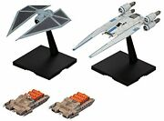 Bandai Star Wars U Wing Fighter And Thai Striker 1/144 Scale Plastic Model ...