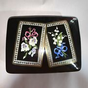 Pre-loved Authentic And Co Porcelain Playing Card Box Sybil Connolly