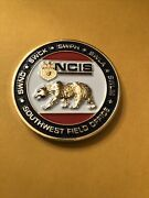 Naval Criminal Investigative Service Ncis 50 Years Southwest Challenge Coin