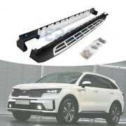 Running Board Side Steps Pedals Nerf Bar Fits For All New Kia Sorento 2020 2021