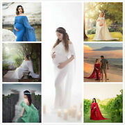 Womenand039s Maternity Pregnant Maxi Dress Photography Props Pregnancy Beach Dress