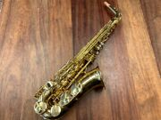 Pre Owned Yanagisawa Alto Saxophone A-wo 1 - Excellent - Ships Free Worldwide