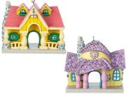 New Authentic Disney Parks Mickey And Minnie Toontown House Ornaments Christmas