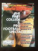 Vintage Sports Illustrated 9/1/82 1st College And Pro Football Issue Dan Marino