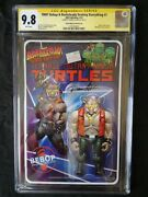 Tmnt Bebop And Rocksteady Destroy Everything 1 Action Figure Variant Cgc Ss 9.8