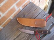 1970s Vintage 5 Blade Chicago Cutlery 94-5 Carbon Skinning Hunting Knife Usa