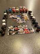 Nhl Teenymates Series 6 - Lot Of 22 Includes 16 Of 31 Teams Plus Puzzle Pieces