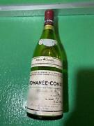 Drc Romanee-conti 1985 Bottle Empty