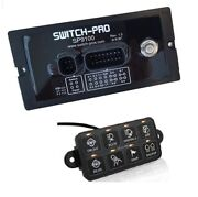 Switch-pros Rgb 8-switch Programmable Power System Bezel Style Enclosure