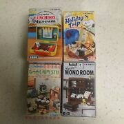 Re-ment Snoopy's, Holiday Trip, Mono Room, Lunchbox, Nostalgic Lot