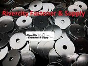 25 Extra Thick Heavy Duty Fender Washers 3/8 X 2 Large Od 3/8x2