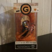 Department 56 Glitterville Where's The Cat What's That Noise Cat Halloween Decor