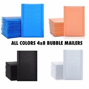 Beautiful Colors Quality Adhesive Bubble Mailers Used For Shipping Products 4x8