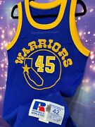 Russell Athletic Warriors Golden State Purvis Short Jersey Sz 42 1987 Nba Game