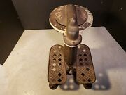 Antique Try Your Weight Scale -most Unusual I Have Ever Seen And Early Cast Iron