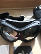 Moncler Ski Goggles, Black, New With Original Packaging.