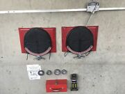 Wheel Alignment Set - Model 778 With Snap On Turntables