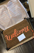 Banksy - Welcome Mat - Gross Domestic Product - Love Welcomes - Original