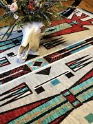 Horse Thieves Electric Southwestern Country Lodge Area Rug 8and039 X 11and039