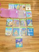 Leap Frog Tag Lot With 2 Pens 2 Cases And With Books Lot See Pic For Book Titles