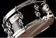 Rare Ayotte Ay1450-10p Size 14 X 6 Black Ebony Gloss Snare Drum Made In Canada