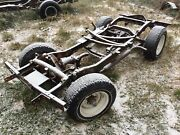 1962 Willys Cj3a Jeep Frame And Rears Mint California With Hurst V8 Chevy Mounts