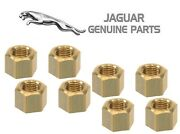 Genuine Set Of 8 Nuts Front Pipe To Exhaust Manifold C17916 For Jaguar Xj6 4.2l