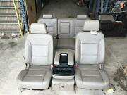 19 Chevrolet Silverado 2500 Tan Leather Electric Front And Rear Seat Set 2019