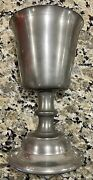 Pewter Goblet, Woodbury Pewterers, Greenfield Village, Henry Ford Museum, 1976