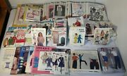 100+ Sewing Patterns Vintage Mccalls Butterick Simplicity Stretch And Sew Kwik Sew