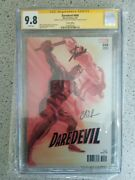 Daredevil 600 150 Alex Ross Variant Cgc Ss 9.8 Signed Stan Lee And Charles Soule