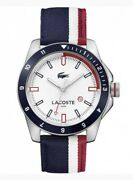 Lacoste 2010899 Wrist Watch For Men Nylon Band New With Tags