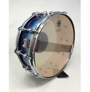 Rare Sakae Sd-1455ma Made By Remo Usa Blue Snare Drum Shipped From Japan