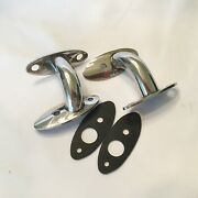 Custom Tail Light Stands For 1937 Ford Tail Lights- Pol S/s- 1 Pair