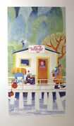 Original 1996 Limited Edition Rie Munoz Signed Numbered Airline Agent Art Print