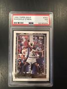 1992 Topps Gold Shaquille Oandrsquoneal Rookie Card Psa 7