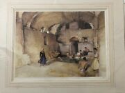 William Russell Flint Pool Of Echoes Unframed Limited Edition Print From 1997