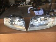 06-10 Audi A8 S8 Hid Xenon Head Lights  Afs Adaptive Set Left And Right