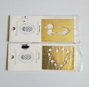 2pack Goose Brass Embossing Stencil New England Country Stencilworks Finest Qual