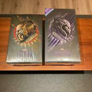 hot Toys Marvel Black Panther Killmonger Lot Of 2 Figure With Box