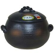 Rice Cooker Banko Yaki Clay Earthen Pot 5go Heat Resistant Pottery Made In Japan