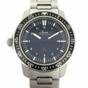 Sinn Ezm3 603.ezm3 Automatic Stainless Steel Divers Menand039s Watch 41mm Box And Paper