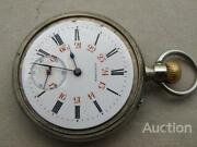 1905 Longines Rare Antique Menand039s Pocket Railroad Watch Mechanical Working