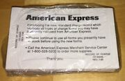 Sealed Pack Of 99 Vintage American Express Amex Credit Card Charge Receipt Slips