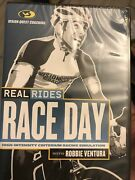 Real Rides Race Day With Robbie Ventura Dvd Vision Quest Coaching - New