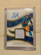 2020 Immaculate Joshua Kelley Rookie Patch Auto 55/99 Rpa Los Angeles Chargers⚡