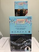 Gemmy Orchestra Of Light Holiday Lightshow Music 6 Outlet Show Box Speaker And Hub