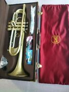 New Bach Trumpet B Flat Trumpet Lt197gs-77 Musical Instrument Heavier Type Gold