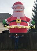 30and039 Ft Inflatable Santa Christmas Holiday Decoration New Massive Free Shipping