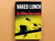 William S. Burroughs - Naked Lunch Hardcover Book - Early Grove In-house Only